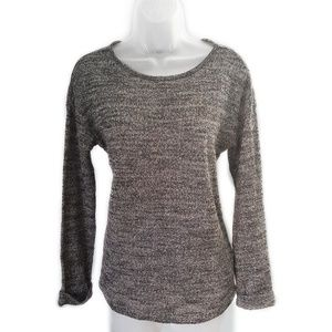Topshop Cuffed Long Sleeve Knit Sweater Size 6